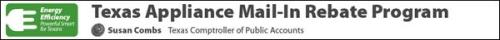 Texas Mail-in Rebate Program